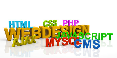 WEBDESIGN, MYSQL, PHP, CSS, HTML, JAVASCRIPT, AJAX, CMS, Text