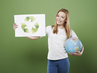 Our planet need your help by recycling