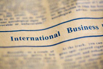 Uluslararası Ticaret