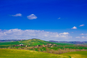 Spedaletto in Val d'Orcia