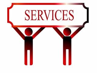services, illustration