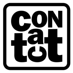 CONTACT icon (us details customer service help)