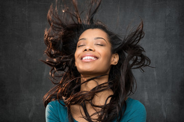 Hair style portrait