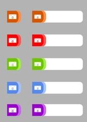 buttons send