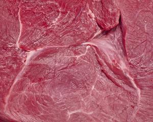 fresh raw meat closeup