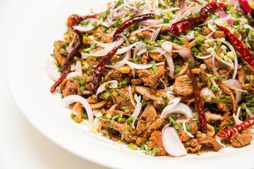 Spicy  duck salad
