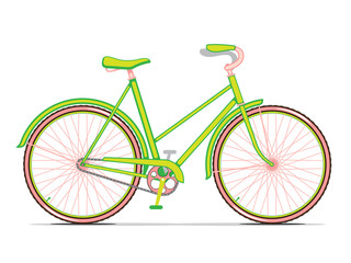 Womens City Bicycle