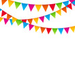Party Background with Flags Vector Illustration. EPS 10 - 81160793