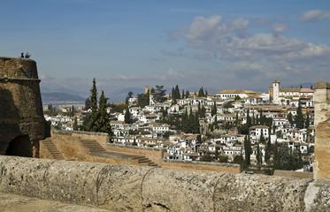 San Nicolas from Alhambra, Granada