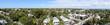 Panorama view of Florida Key West