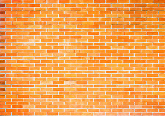 beautiful yellow  brick wall texture