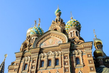 Cathedral of Our Saviour on Spilled Blood, St. Petersburg
