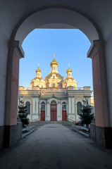 Holy Cross Cossack Cathedral in St. Petersburg