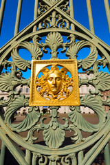 Gates of the Royal Palace - Torino Italy