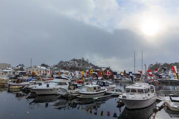 World championship in arctic cod fishing.