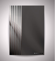 background with deep black and white colors