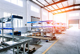 factory workshop interior and machines - 81168759