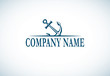 anchor logo template - 81169374