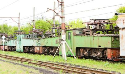 electric locomotives, Kostolac, Serbia
