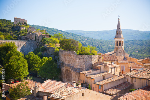 Poster View of Saint Saturnin d Apt, Provence, France