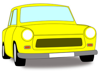 Yellow Trabant