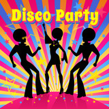 Fototapety Disco party. Vector illustration.