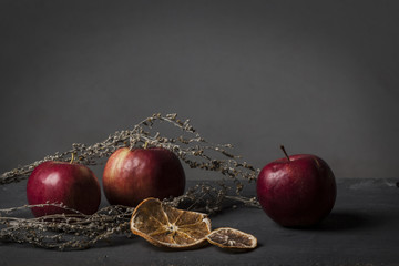 Apples and oranges with wormwood