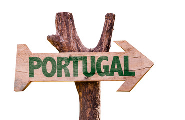 Portugal sign isolated on white background