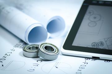 3D Konstruktion für Maschinenbau, Symbolfoto