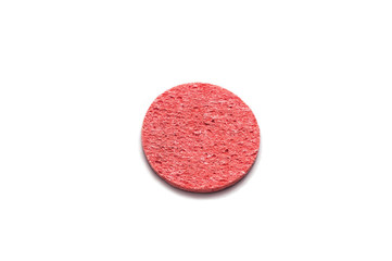 red face sponge