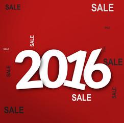 2016 bold white font