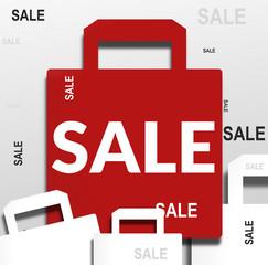 Sale Bag Illustration