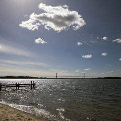Cloud and bridge