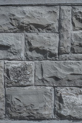 Part of the stone wall. Brick wall background texture.