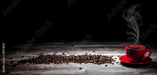Kaffee Hintergrund - 81178167