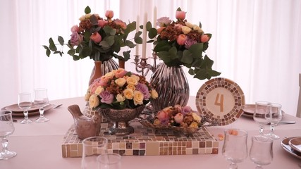 sweets table decoration for a party or wedding