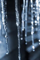 Cyanotype Icicles