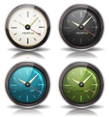 Watches Icons Set