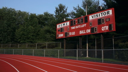 Scoreboard in Stadium