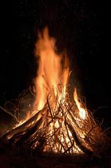 lagerfeuer, feuer, brennen