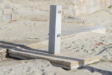 Lavapiés de playa.