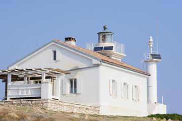 Haus beim Leuchtturm
