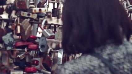 Girl considers locks lovers