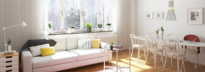 Wohnzimmereinrichtung (Panorama)