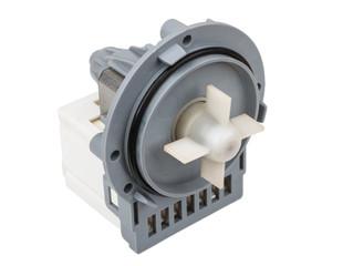 Faulty electric pump motor washing machine