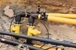 Arbeiten an den Gasleitungen - 81190724