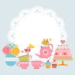 Tea party invitation - 81191370