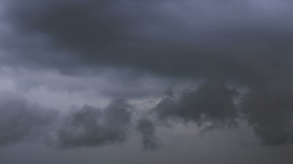 Storm clouds. Background. Time Lapse
