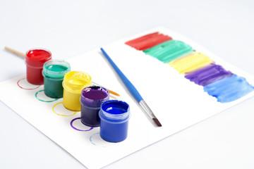 Gouache paint