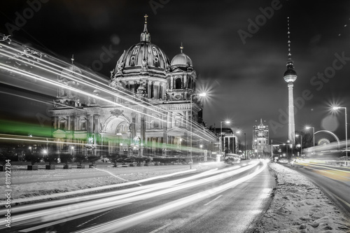 Fotobehang Berlijn street photography -Berlin